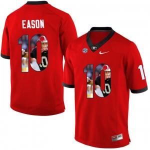 Jacob Eason Georgia Bulldogs Football Jersey - White